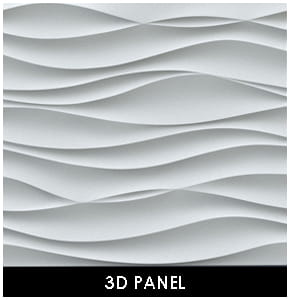 Polyurethane Decorative 3D Panel