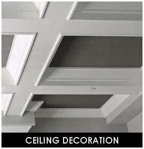 Polyurethane Ceiling Decoration
