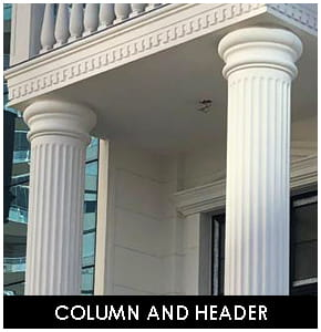 Polyurethane column and Header
