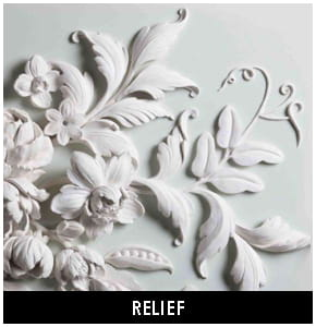 Polyurethane relief decoration products