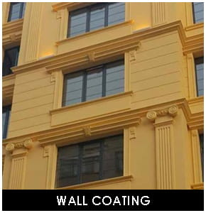 Polyurethane Interior and Exterior Wall Coating