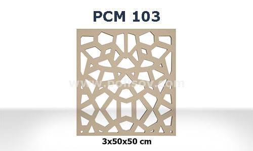 Crystal Patterned Decorative Wall Cladding
