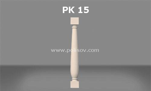 polyurethane PK-15 Balcony Stairs Balustrade Products