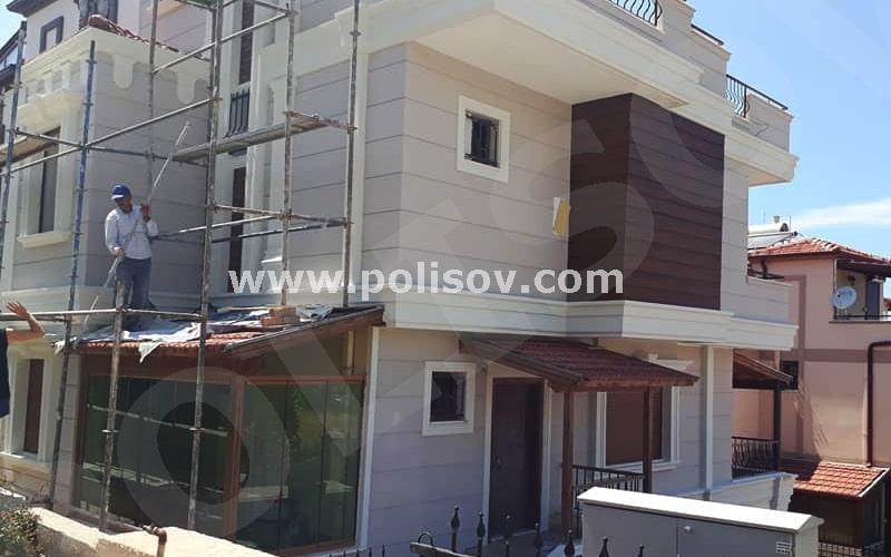 Dış Cephe Kaplama İzmir Çeşme Villa